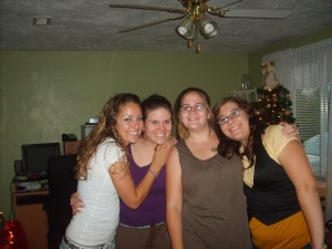 Caitlynn, me, meagan and Josie!